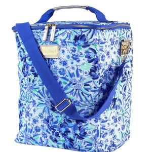 Lilly Pulitzer wine carrier High Maintenance
